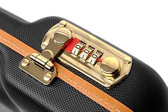 Кейс Negrini пистолетный 32,5 x16,5 x7 черного цвета / кодовый замок