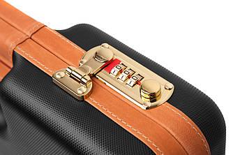 Кейс пистолетный Negrini 35,3x22,2x7 черного цвета с кодовым замком