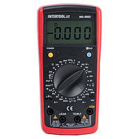 Мультиметр цифровой CAT III-600В/CAT II-1000В, INTERTOOL (MD-0002)