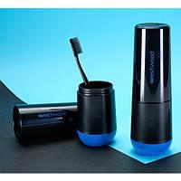 Travel чашка для зубной пасты и щетки Westwood. Norway black, фото 1