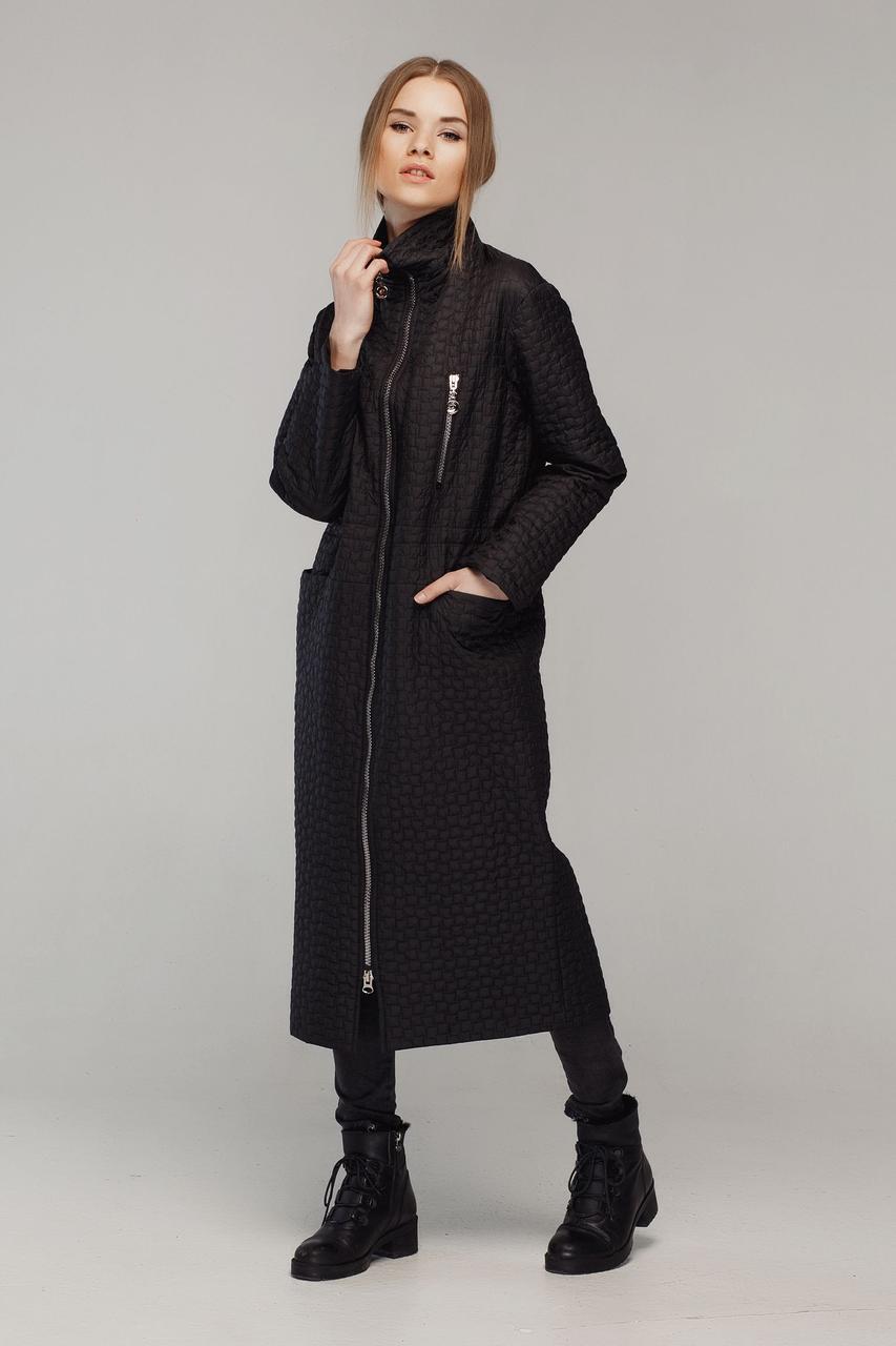 f0089d2d7ea Классические женские черное пальто Alberto Bini 50263 - КРЕЩАТИК - интернет  магазин обуви в Александрии