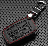 Кожаный чехлол для ключей  Ланд Ровер Land Rover freelander 2 3 BTN, фото 1