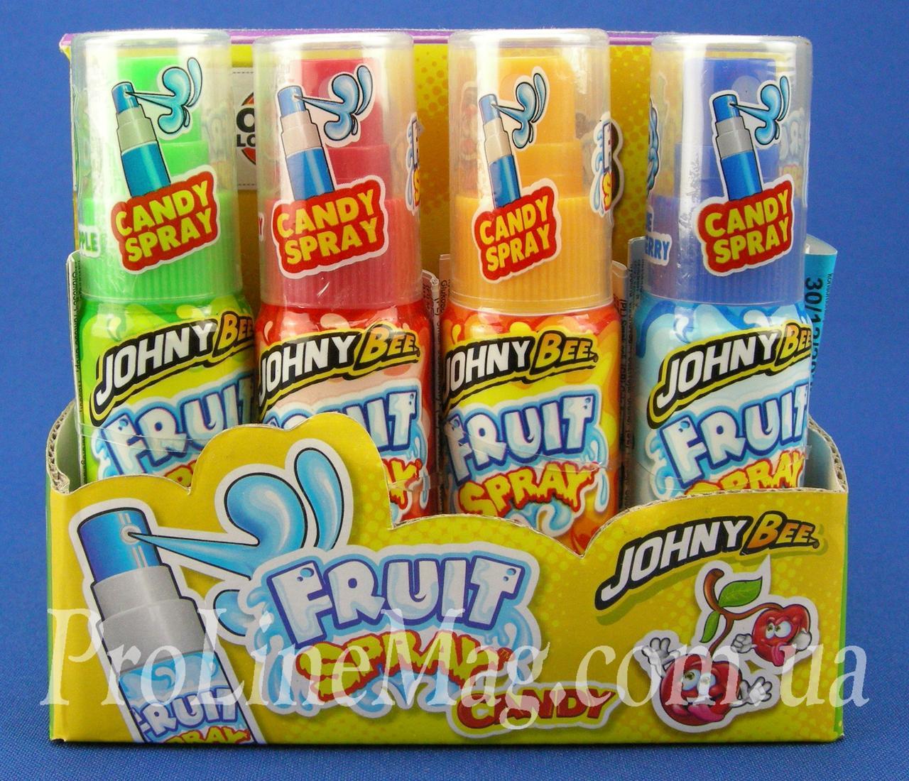 Конфета спрей Johny Bee® Fruit Spray