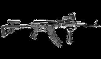 Рукоятка пистолетная FAB для AK-47, зеленая тактическая