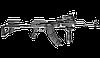 Рукоятка пистолетная FAB для AK-47 / Рукоятка тактическая черного цвета, фото 2