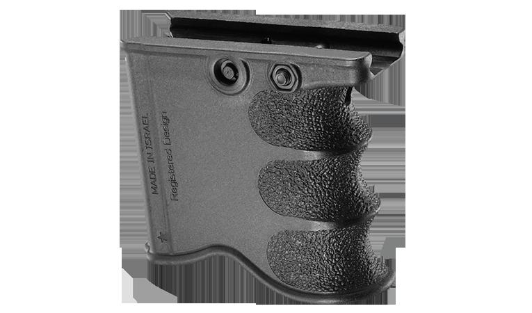 Рукоятка управления огнём с держателем для запасного магазина FAB / Рукоятка тактическая черного цвета
