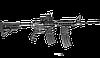 Рукоятка управления огнём с держателем для запасного магазина FAB / Рукоятка тактическая черного цвета, фото 2
