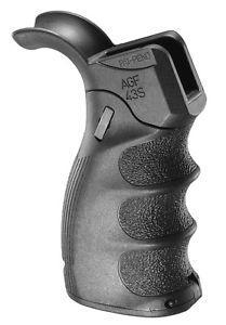 Пистолетная рукоятка FAB для M16\M4\AR15, складная / Рукоятка тактическая черного цвета