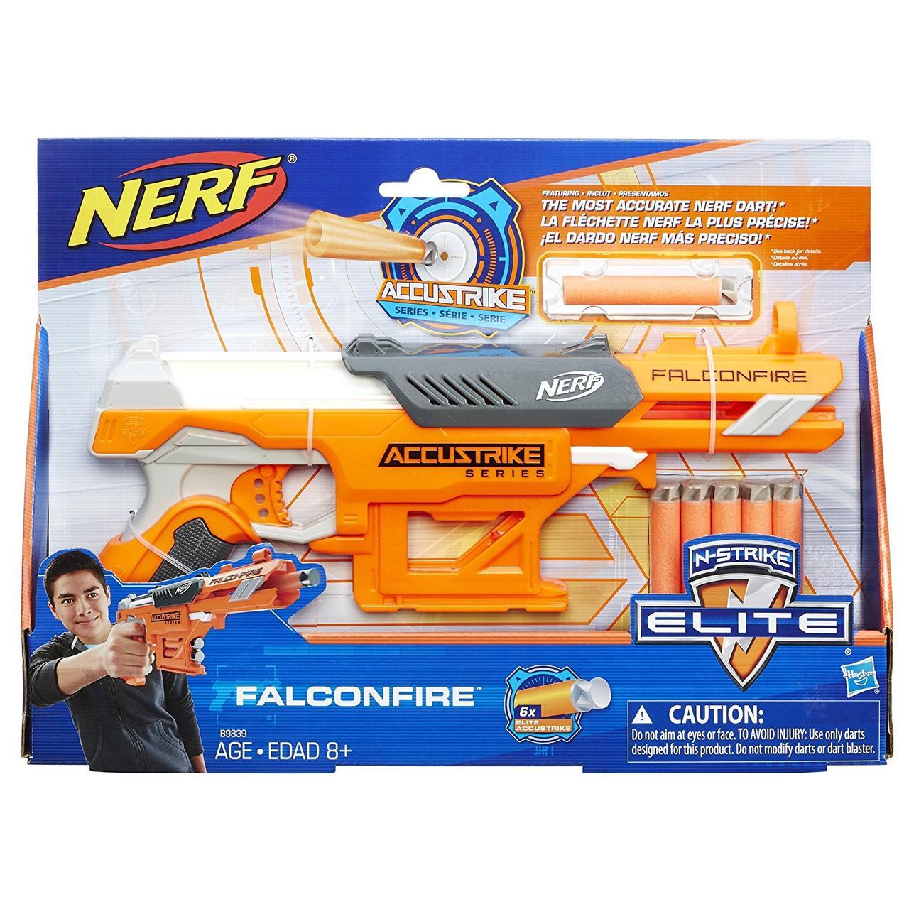 Бластер Nerf Elite AccuStrike Series FalconFire Hasbro