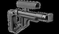 """Приклад складной Fab Defence для """"Сайга"""" / Приклад оружейный черного цвета"""