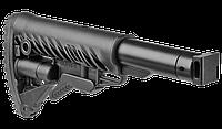 """Приклад телескопический Fab Defence M4 для """"Сайга"""" / Приклад оружейный черного цвета"""