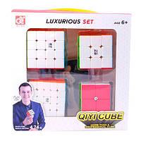 Кубик Рубика QiYi Bundle 2 | Набор кубиков №2 (2х2-5х5)