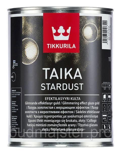 Тайка Tikkurila Стардаст лазур (золота), 1 л