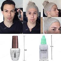 🍶 Клей для фиксации парика, накладки, системы волос и ремувер для снятия клея