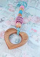 Натуральный прорезыватель Сердце, фото 1