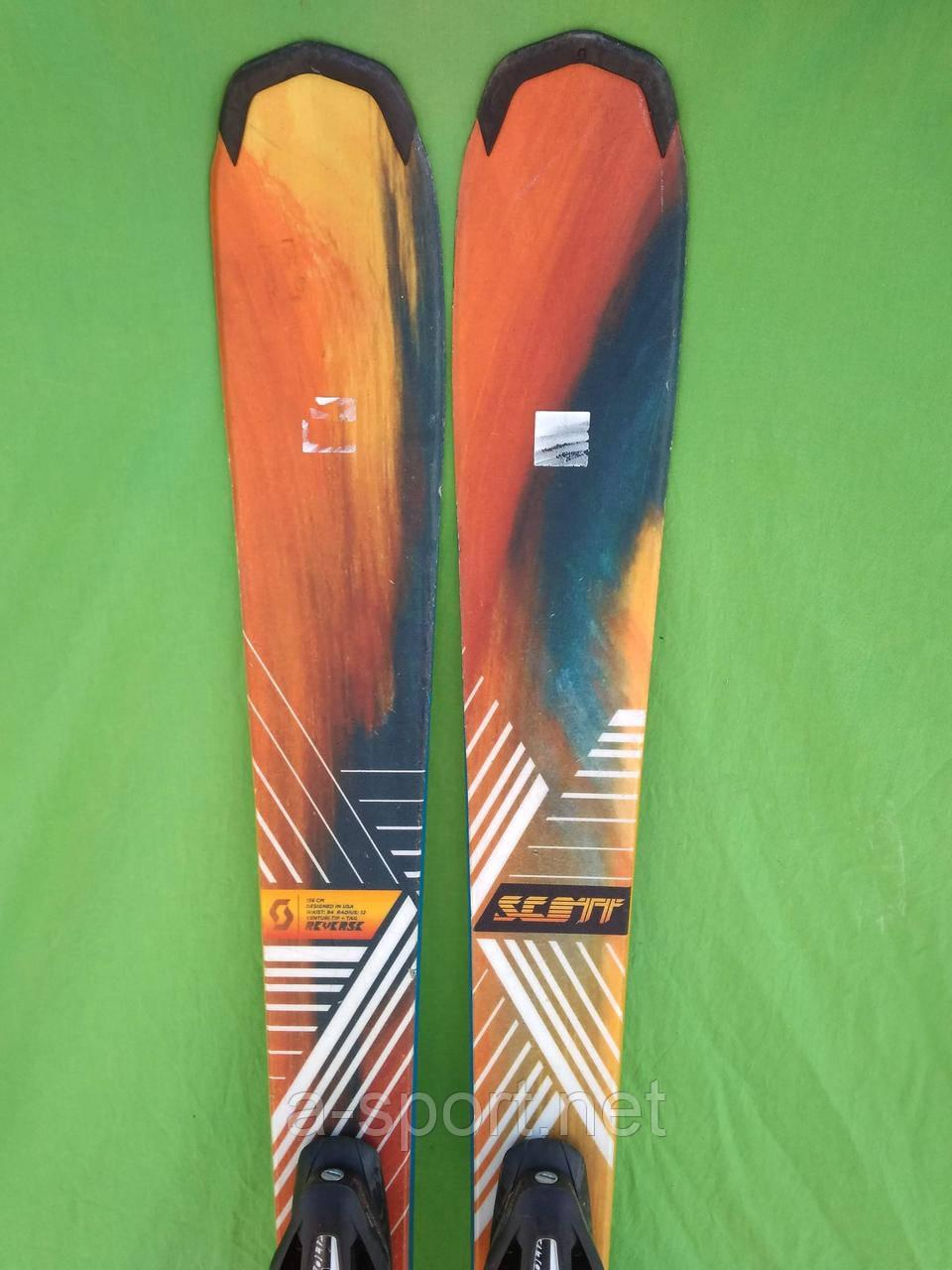Scott Reverse  156 см гірські лижі експертний універсал 2014р
