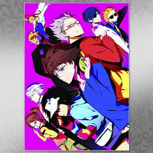 Плакат Аниме Hamatora 01