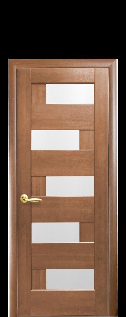 """Двери межкомнатные """"Новый Стиль Пиана"""" золотая ольха"""