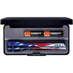 Фонарик Mini Maglite AA (флаг США)