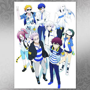 Плакат Аниме Hamatora 03