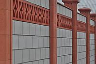 """Бетонный забор из блоков """"Классика"""""""