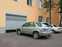 Роллетные ворота в гараж Alutech, 3500х2200, профиль AG/77 с встроенным монтажом