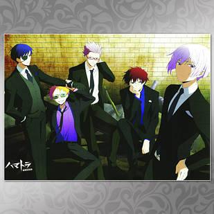 Плакат Аниме Hamatora 04