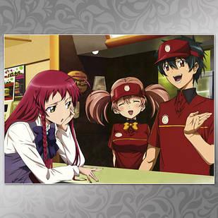Плакат Аниме Hataraku Maou-Sama! 01