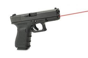 Лазерный целеуказатель для пистолета интегрированный под Glock 19 Gen 4 (красный)