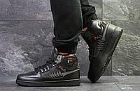 Мужские кроссовки на зиму черные Tourissimo Fila 6514 (кросівки зимние найк  хуарачі кроси чоловічі зимові 975ce81167c5d