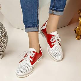 Туфли женские  №254-красные (36-41)