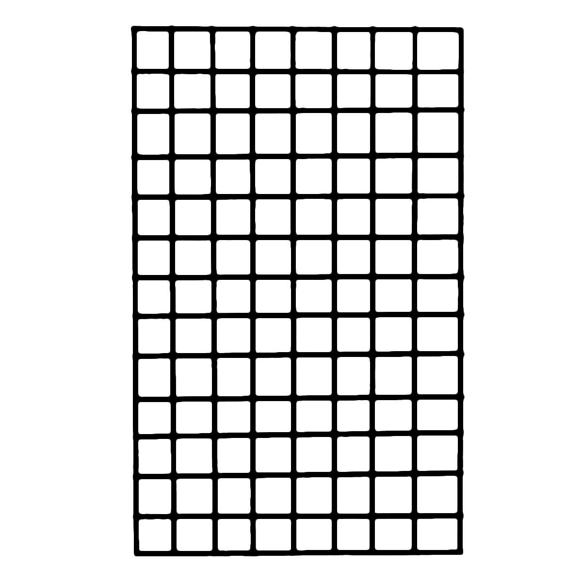 Торговая сетка решетка ячейка 10 см черного цвета под заказ от производителя