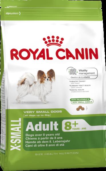 Royal Canin (Роял Канин) X-SMALL MATURE+8 для миниатюрных собак от 8 лет