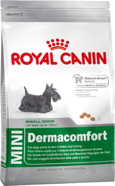 Royal Canin (Роял Канин) Mini Derma Comfort для собак с чувствительной кожей