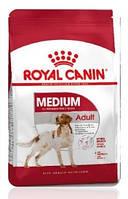 Сухой корм Royal Canin (Роял Канин) MEDIUM ADULT для собак средних пород с 12 месяцев до 7 лет
