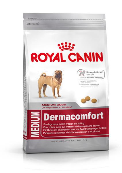Royal Canin (Роял Канин) Medium Dermacomfort для собак средних пород с чувствительной кожей