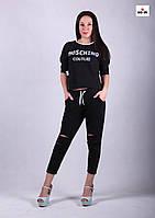 """Женский молодежный костюм для девушек """"Style-Black"""" р. 42-52, фото 1"""