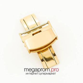 Для годин застібка gold 18 мм, 20 мм, 22 мм (06760) репліка