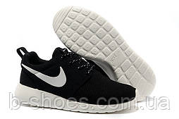 Женские кроссовки Nike Roshe Run (Black)