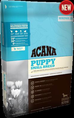 Акана Паппи Смол Брид Acana PUPPY SMALL BREED - корм для щенков мелких пород