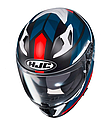 Мотошлем Hjc i70 Elim (Black Blue Red), фото 2