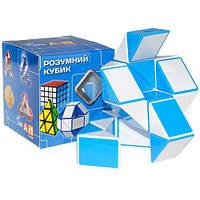 Змейка Рубика голубая | Smart Cube 2017 BLUE