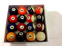 Шары для игры в американский бильярд(пул) , 60 мм., фото 1
