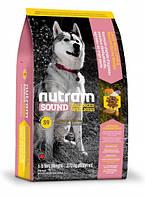 S9 Nutram Sound Balanced Wellness Natural Lamb Adult Dog Для взрослых собак с ягненком и шлифованым ячменем