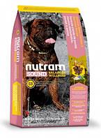 S8 Nutram Sound Balanced Wellness Large Breed Adult Dog Food Для взрослых собак крупных пород с курицей и овсянкой