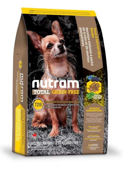 T28 Nutram Total Grain-Free Salmon & Trout Small Breed Dog Food Для мелких пород собак с лососем и форелью