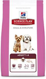 Hills (Хилс) Adult Small and Miniature с курицей и индейкой для собак малых и миниатюрных размеров от 1 до 6 л