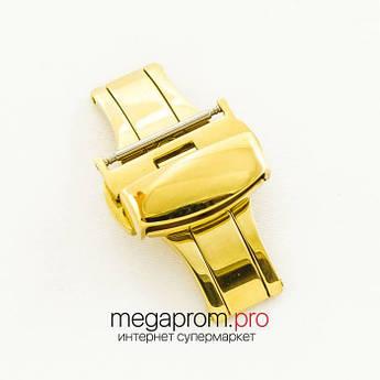 """Для годин застібка- """" метелик автомат lemon gold 18 мм, 20 мм, 22 мм (07236)"""