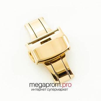"Для годин застібка- "" метелик автомат gold 18 мм, 20 мм, 22 мм (07237)"