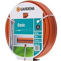 Шланг поливочный Gardena Basic 13 мм x 20м.